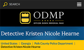 Detective Kristen Nicole Hearne lost her life after being ambushed during a stolen vehicle investigation